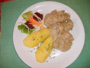Scharfe Hähnchenleber - Rezept