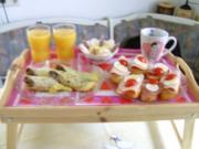 Frühstück im Bett - Rezept