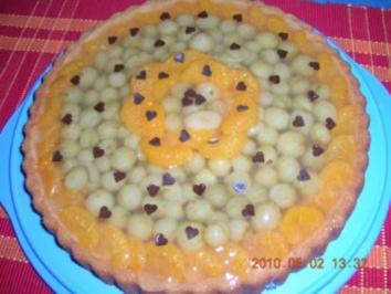 Stachelbeer-Mandarinen-Tortenboden - Rezept