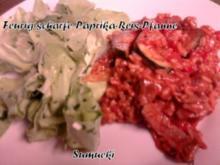 Feurig-scharfe Paprika-Reis-Pfanne - Rezept