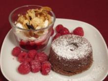 Warmer Schokoladenkuchen - Rezept - Bild Nr. 2