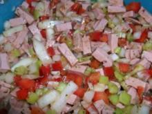 Wurstsalat light - Rezept