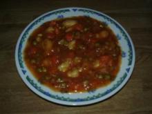 China-Gemüseeintopf mit Gnocchi - Rezept
