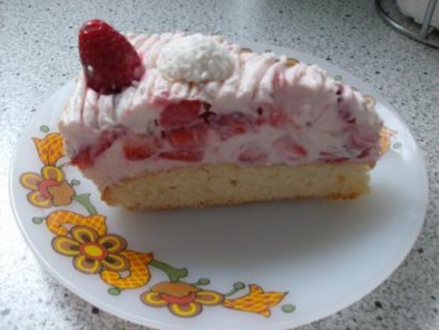 Erdbeer-Raffaello-Torte - Rezept - Bild Nr. 11