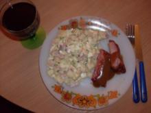 Spargelsalat mit Spareribbs in Barbeque-Sauce - Rezept