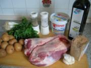 Fleisch:  Lammschulter, wie man sie in Okzitanien zubereitet - Rezept