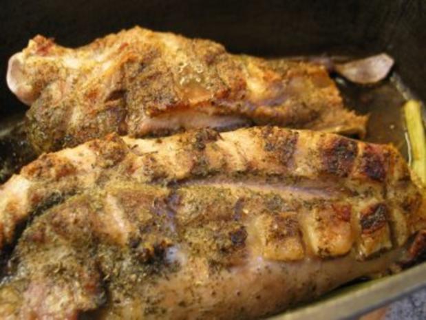 Fleisch:  Lammschulter, wie man sie in Okzitanien zubereitet - Rezept - Bild Nr. 7