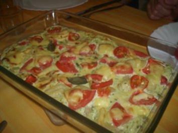 Gnocchi-Frischkäse-Auflauf - Rezept