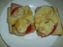 schelles Toast überbacken - Rezept