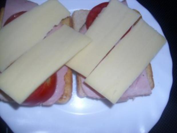 schelles Toast überbacken - Rezept - Bild Nr. 3