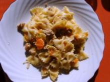 Hackfleisch - Karotten Pfanne - Rezept