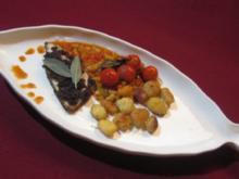 Dorade unter Olivenkruste mit ligurischem Gemüse und Gnocchi - Rezept - Bild Nr. 2