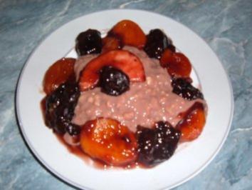 Dessert ...Schokopudding.......nur für große Naschkatzen-..... - Rezept