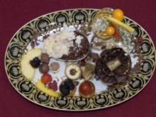 Dessert a la Louis XIV - Braune und weiße Mousse au Chocolat (Harald Glööckler) - Rezept