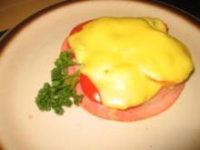 Snack: Tomaten-Schinken Toast - Rezept