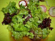 Sommerfrischer Salat als Beilage - Rezept