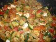 Tomaten-Zucchini-Pfanne - Rezept