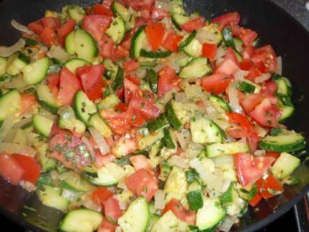 Tomaten-Zucchini-Pfanne - Rezept - Bild Nr. 6