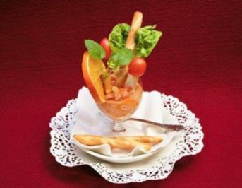 Husumer Beute im Mandarinenmantel oder Wie kommt der Fisch ins Glas? - Rezept - Bild Nr. 2