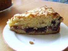 Brombeermarmelade-Pflaumenmus-Kuchen - Rezept