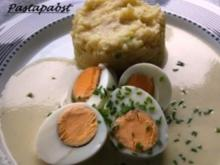Eier in Senfsauce - Rezept