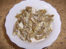 Bohnensalat mit Sahne - Rezept