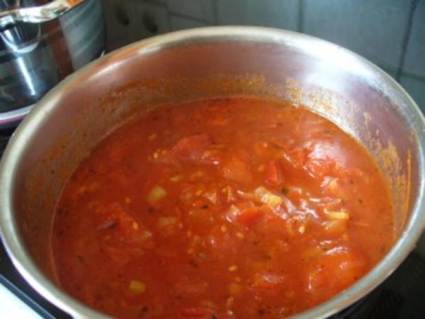 Tomatensoße - á la Dietz - auf Spirelli - Rezept - Bild Nr. 2
