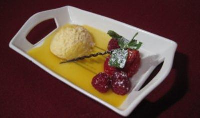 Champagner-Mousse mit frischen Früchten - Rezept - Bild Nr. 2