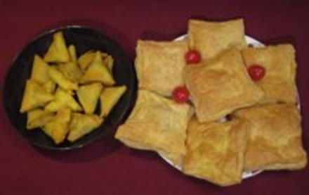 Samosas und verschiedene Pies - Rezept - Bild Nr. 2