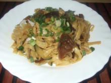 Chinapfanne mit Zucchini und Pilzen - Rezept