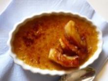 Crème brûlée mit Gänseleber - Rezept