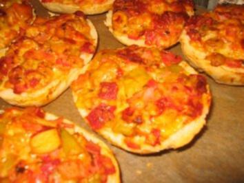 Party: Saftige Pizza Semmeln - Rezept