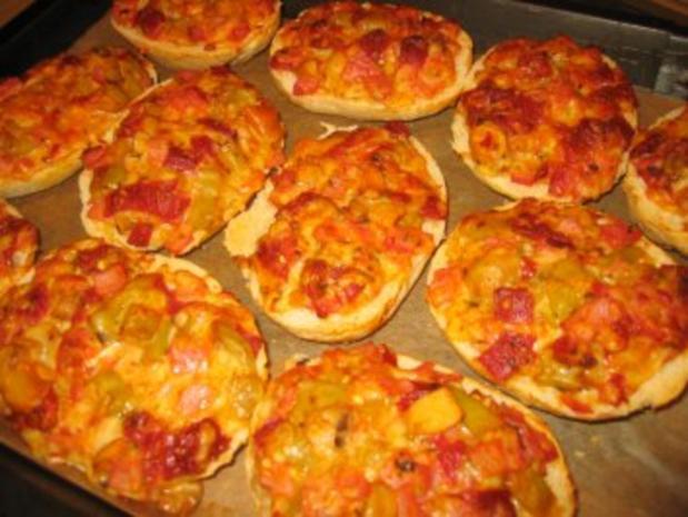 Pizza Semmeln
