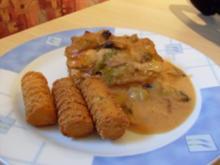 Geschmorte-Lauch-Schnitzel - Rezept
