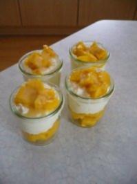 Mango-Joghurt-Kokos-Creme - Rezept