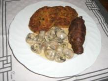 Pikante Champignon-Ragout - Rezept