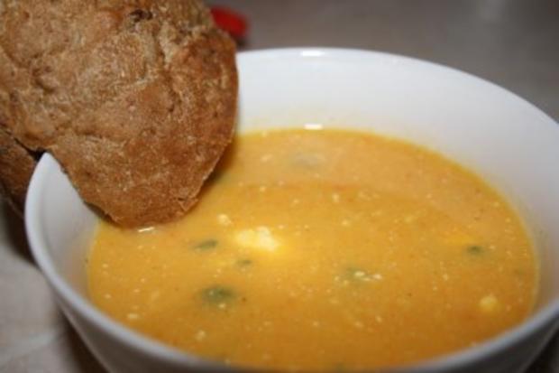 Möhren-Sellerie-Suppe - Rezept