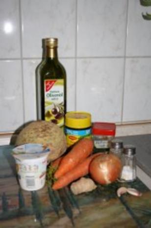 Möhren-Sellerie-Suppe - Rezept - Bild Nr. 2