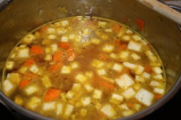 Möhren-Sellerie-Suppe - Rezept - Bild Nr. 5