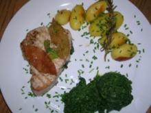 Thunfisch mit Lorbeerblättern eingelegt - Rezept