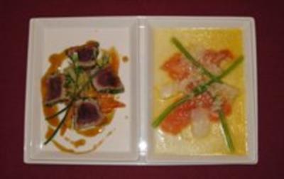 Zweierlei Sashimi - Rezept - Bild Nr. 2