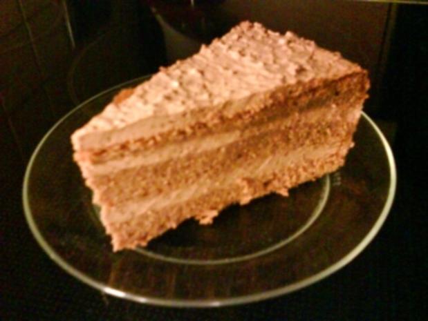 SÜßES: Mousse-au-chocolat-Torte - Rezept