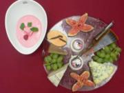 Berliner-Weiße-Dessert und Käsevariationen - Rezept - Bild Nr. 2