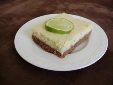 Limetten - Grieß - Schnittchen - Rezept