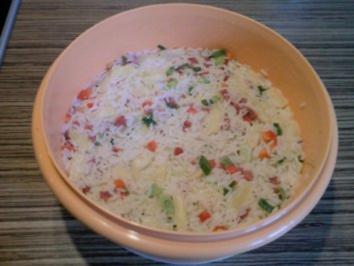 """Rezept: """"SALAT"""" Reissalat, der fruchtig-frische"""