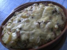 Kartoffel-Rosenkohl-Auflauf - Rezept