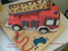TORTE - 3D-Torte - Feuerwehr - Rezept