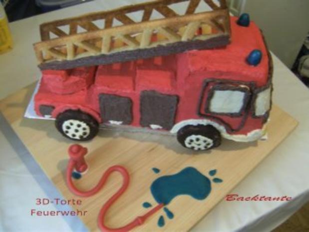 Torte 3d Torte Feuerwehr Rezept Mit Bild Kochbar De