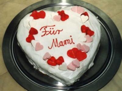 Muttertags-Kokos-Herz - Rezept