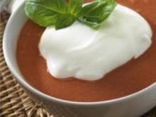 Tomatensüppchen mit Mascarpone - Rezept
